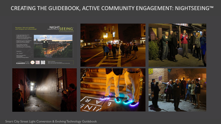 The NightSeeing™ community engagement event provided a two-way active learning session for authors and stakeholders.