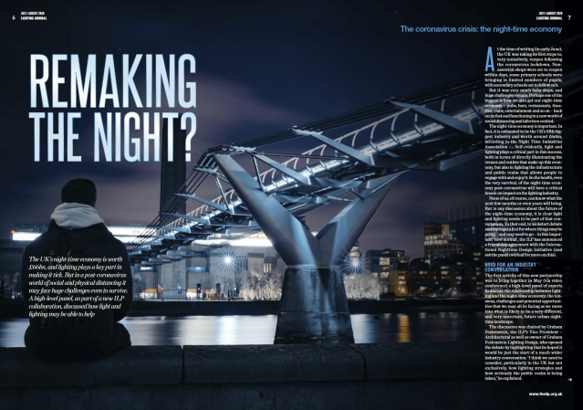 Excerpt from the Lighting Journal: Remaking the Night